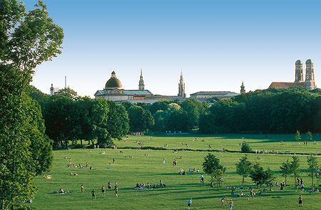 Bayerische Schlösserverwaltung Gärten Englischer Garten München