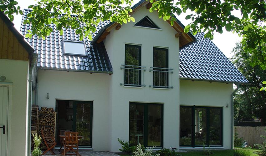 KlassikerStil Zirkon 140  Dreigiebelhaus mit 42 Dachneigung