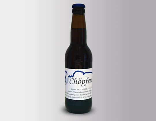 Chöpfen-Bier
