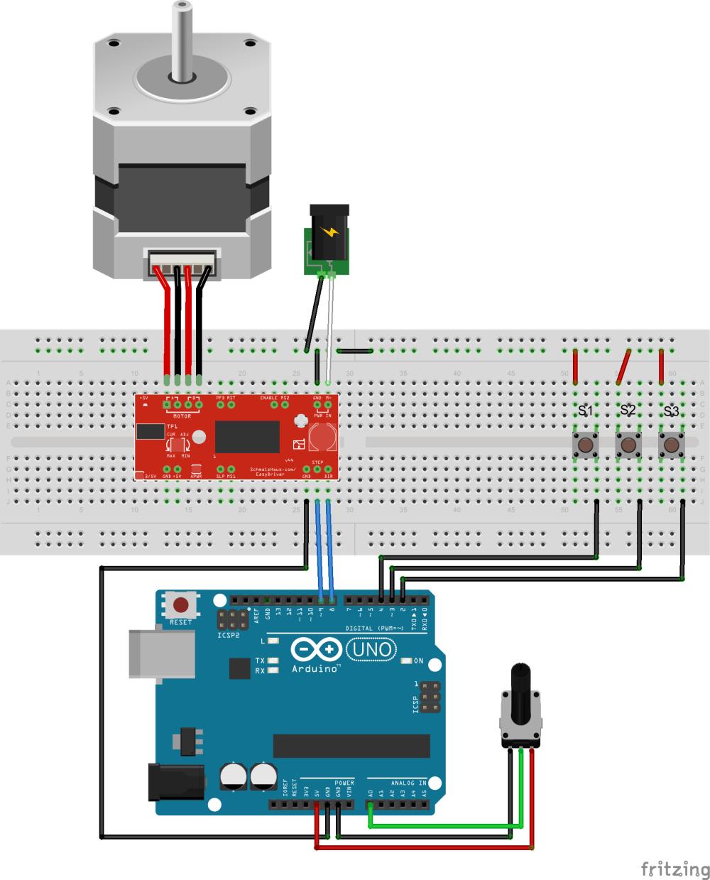 medium resolution of easy driver examples stepper motor controller circuit diagram easy servo motor driver