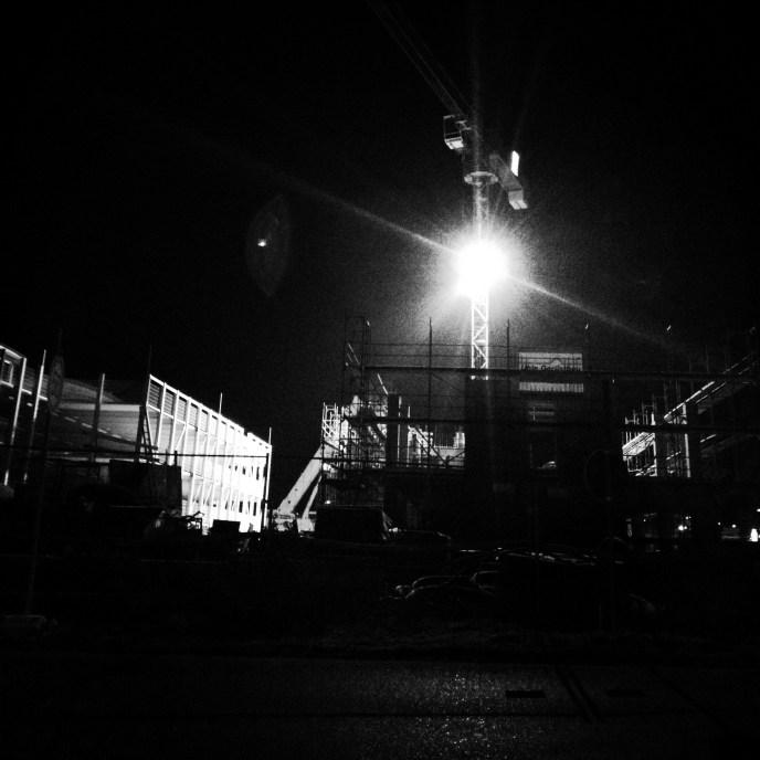 Nachtbaustelle