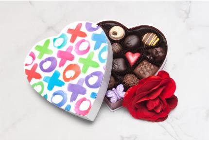 XOXO Chocolate Box
