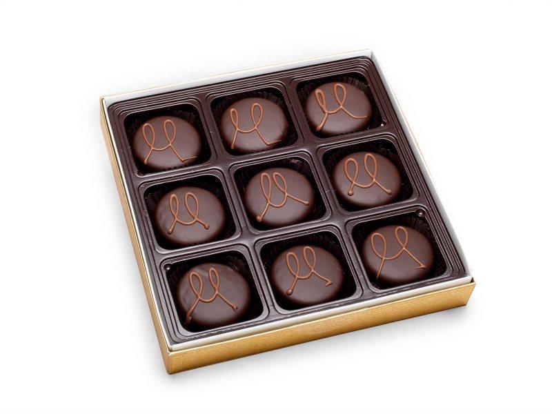 dipped oreo chocolate swirl