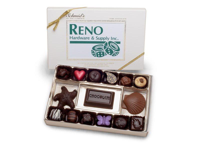 Corporate Business Logo Chocolate Box