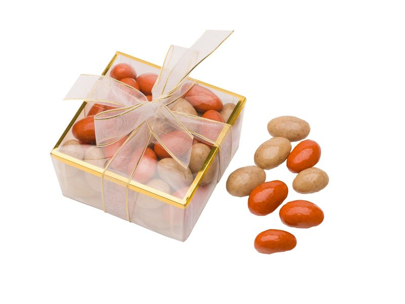 Pumpkin Spice Chocolate Latte Almonds