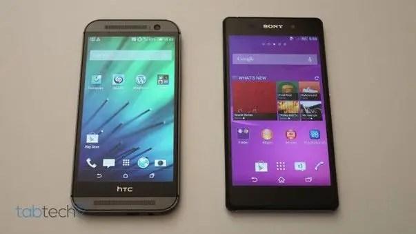 Sony, Sony Xperia Z2, Xperia Z2, HTC, HTC One (M8)