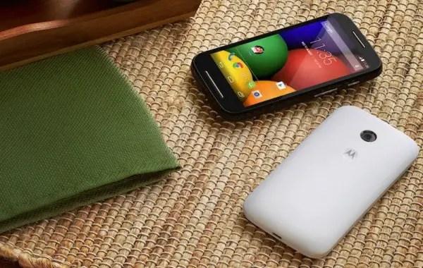 Motorola Moto E Android Smartphone