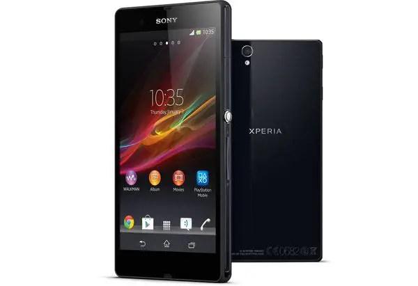 Sony, Xperia Z, Sony Xperia Z