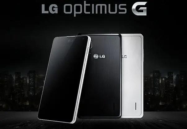 LG, Optimus G, LG Optimus G