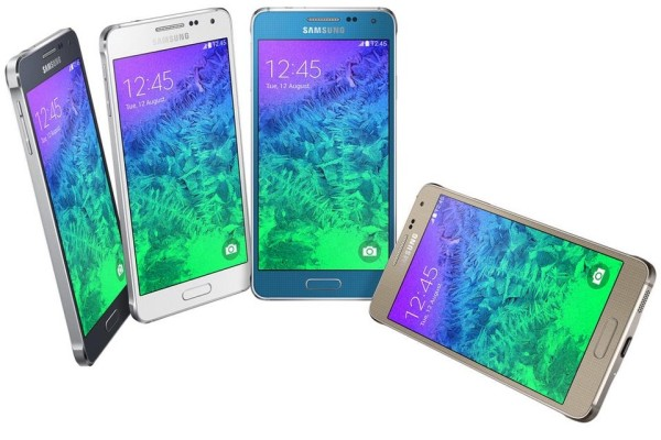 Samsung Galaxy Alpha Android Smartphone