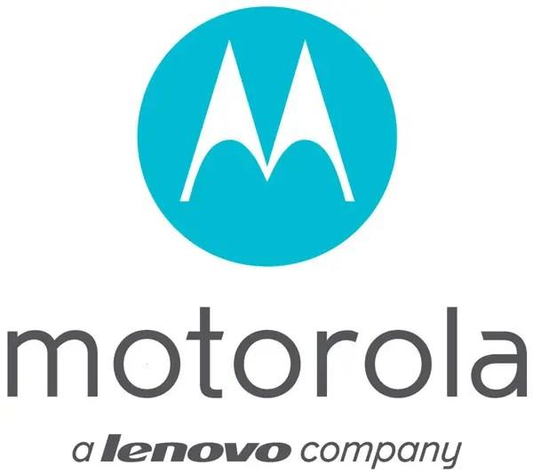 Motorola-A Lenovo Company Logo