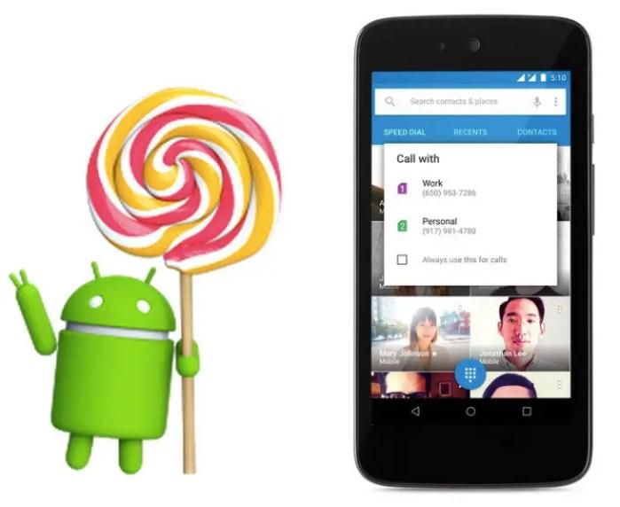 Android 5.1 Lollipop Logo