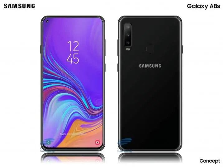 Samsung Galaxy A8s Render