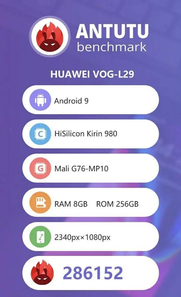 Huawei P30 Pro AnTuTu-Benchmark