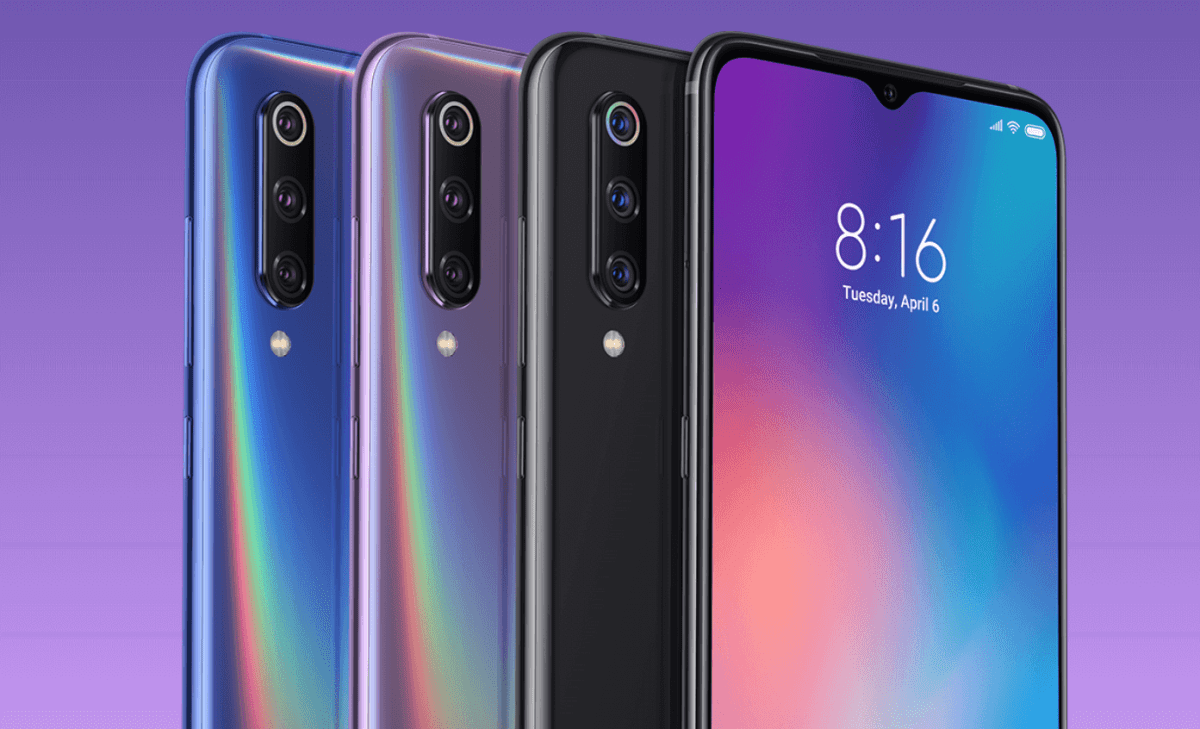 Xiaomi Mi 9 Pressebild
