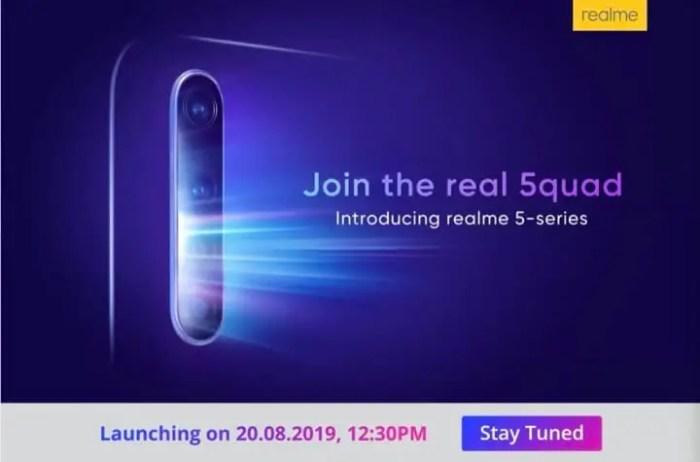 Realme 5-Reihe Launch