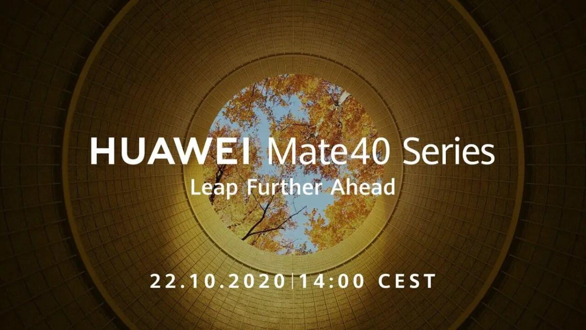Huawei Mate 40-Series Release