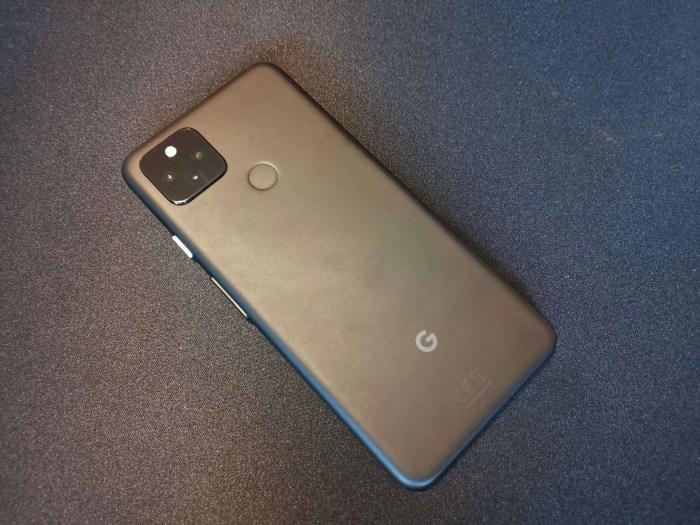 Google Pixel 4a 5G Rückseite