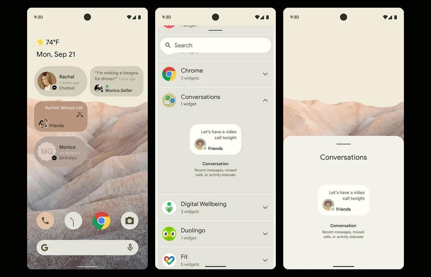 Android 12 Screenshots
