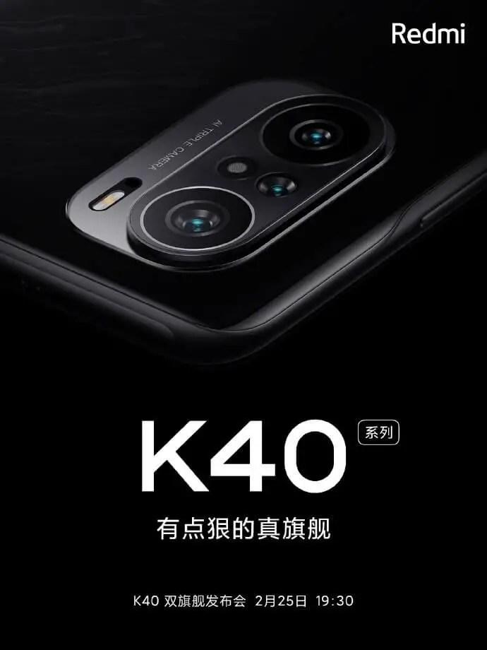 Redmi K40 Kamera