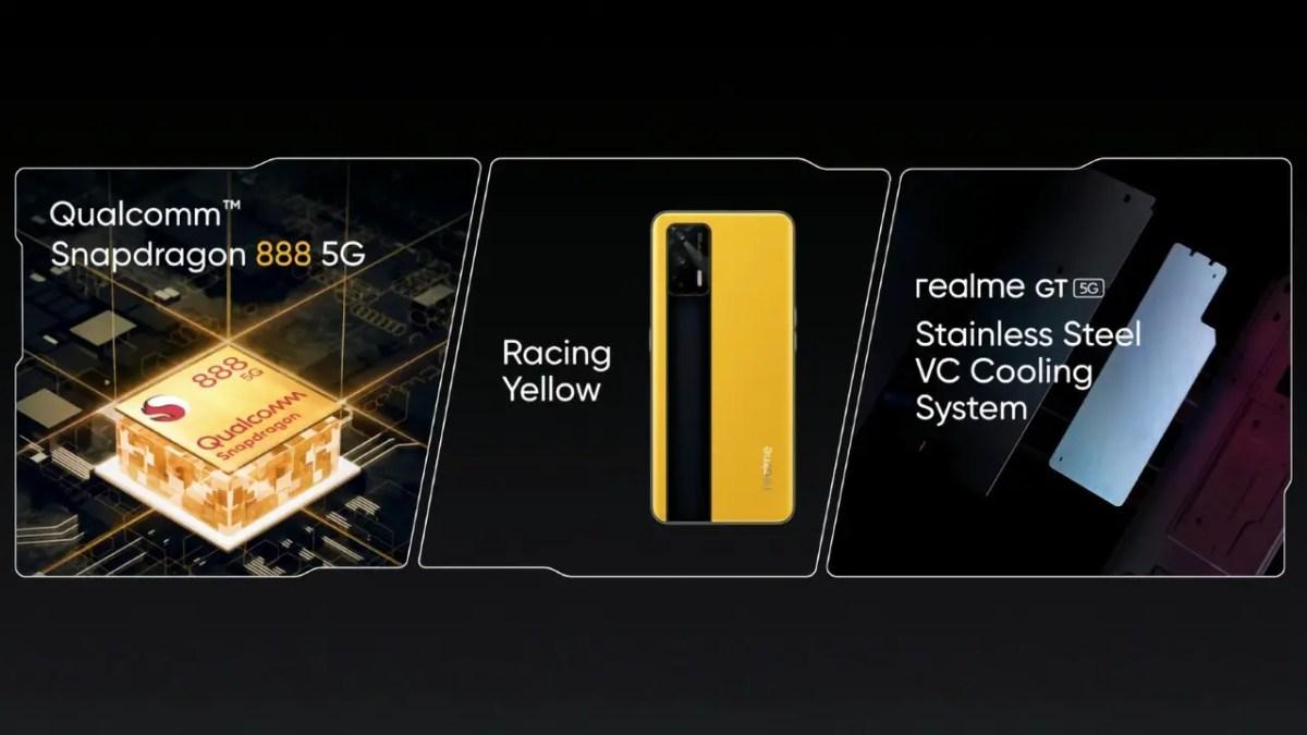 Realme GT 5G Teaser