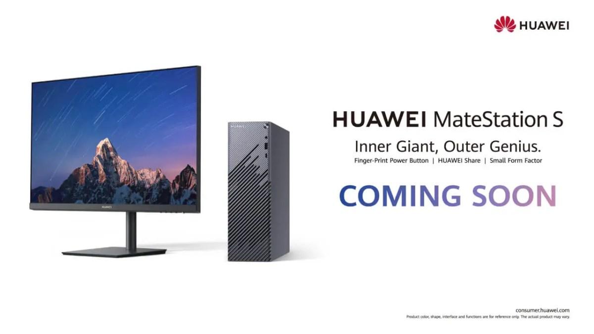 Huawei MateStation S Ankündigung