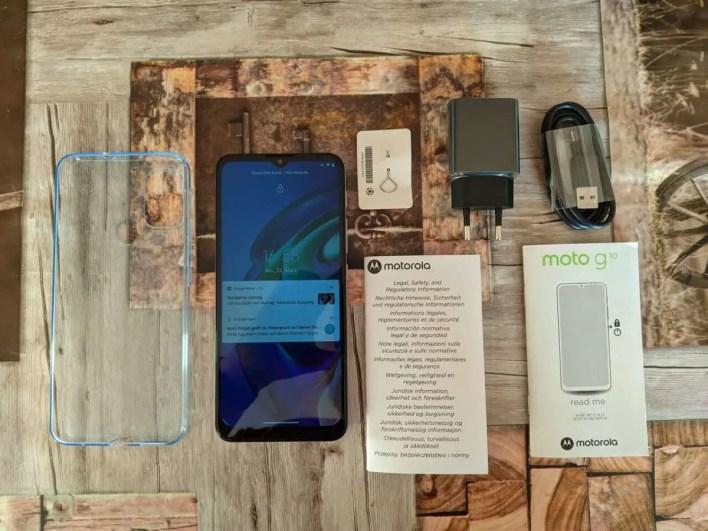 Motorola Moto G10 Lieferumfang