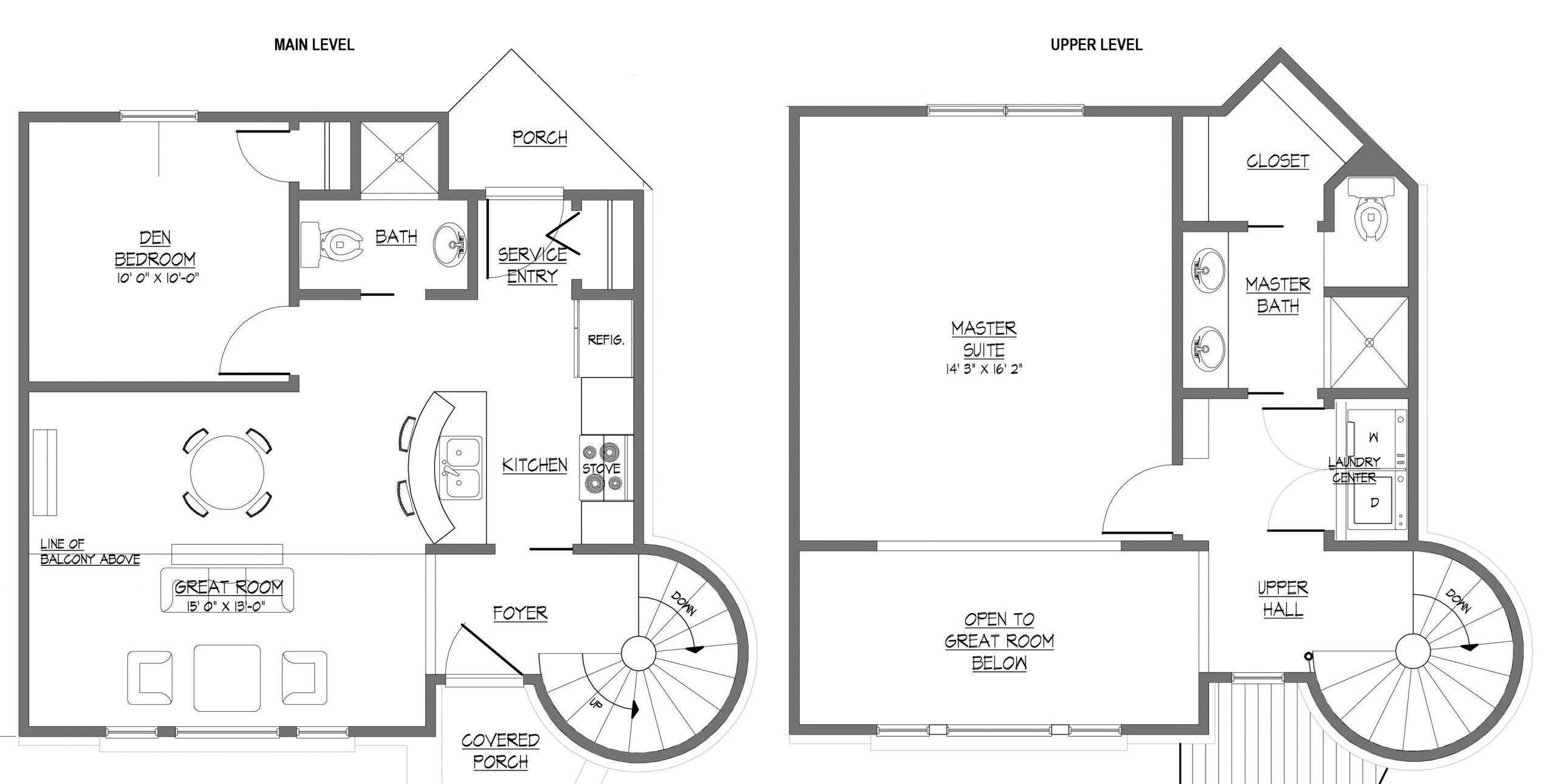 Concrete Home Plans Modern : Schmidt Gallery Design