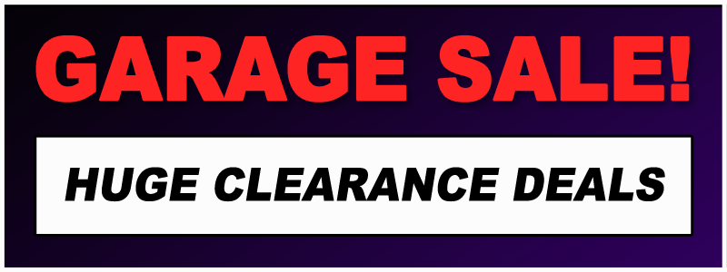 Garage Sale Clearance Event at Schmitt Music Brooklyn Center