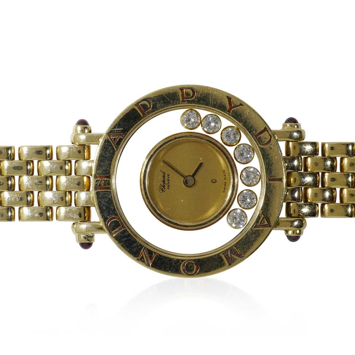 Tissot Schweizer Damen Armbanduhr 585 Gelbgold  Schmuck