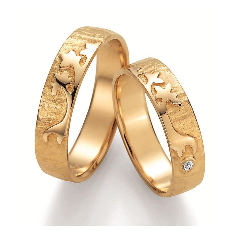 Besondere Paar Ringe