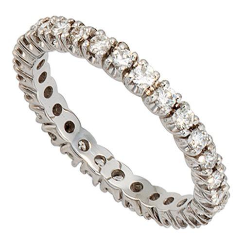 MemoryRing mit Diamanten Brillanten rundum 585 Weigold