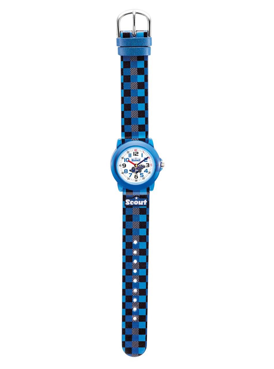 schmucktrends  Scout Kinder Armbanduhr Crystal  Armbanduhr blau
