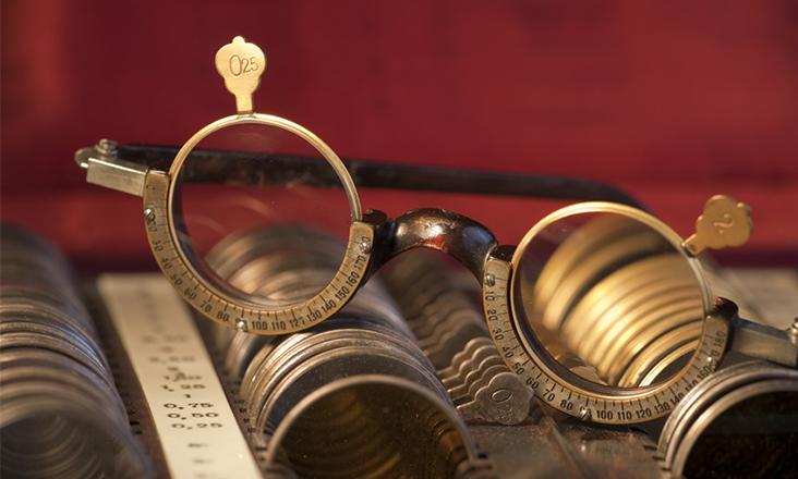 Funktionen einer Brille  schmuckladende  Schmuckladende