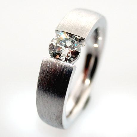 DiamantSolitrRing Diamantringe Verlobungsring Goldschmied Kaufmann Olten