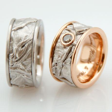 Eheringe Trauringe Partnerringe in Gold individuell hergestellt Goldschmied Kaufmann Olten