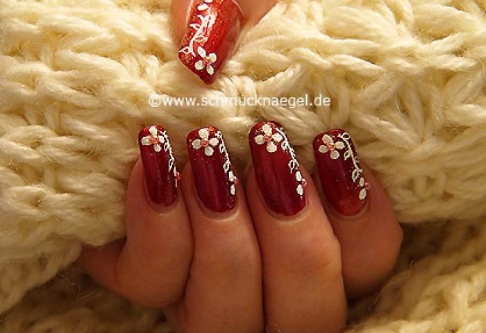 Purpurina Para Uñas En Oro Y Perlas Medias Diseños De Uñas