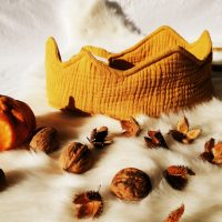Musselinkrone senfgelb