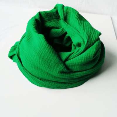 Loop Erwachsene Musselin grün