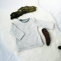 Pullover mit amerikanischem Ausschnitt