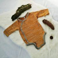 Wickelbody jersey senfgelb