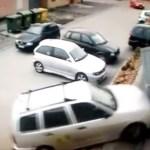 Gas und Bremse verwechselt…