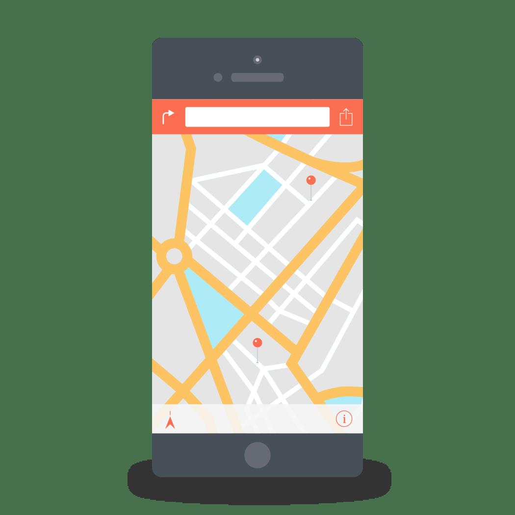 Phone Map A