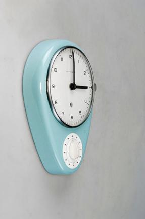 Max Bill kitchen clocktimer  Schneider Colao  Studio
