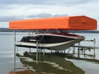 Boat, Pontoon, and Tritoon Lift Canopies