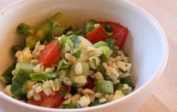 Mozzarella-Tomaten-Petersilie-Salat mit GEFRO Balance