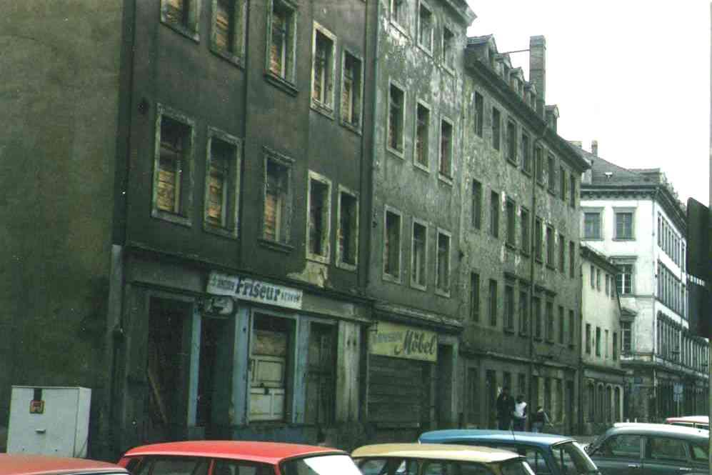 In Dresden vor und nach der Wende