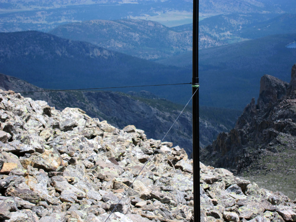 Sota Antenna Pole Tips Sota Outings By K Mos And