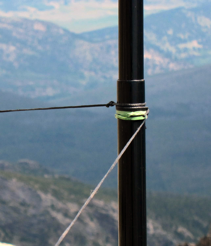 Sota antenna pole tips sota outings by k mos and for Expensive fishing poles