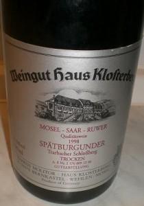 alter Rotwein